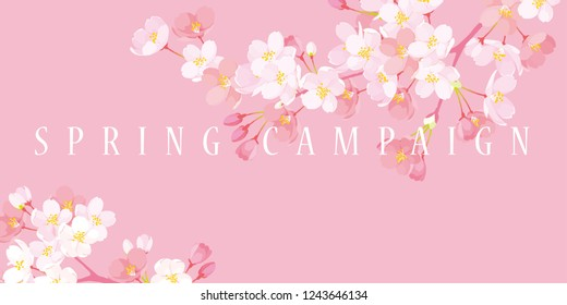Spring campaign poster