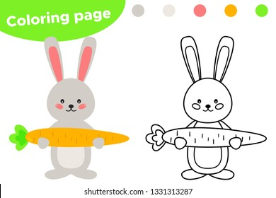 Kids Drawing Carrot Images Stock Photos Vectors Shutterstock