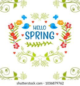 Spring design floral