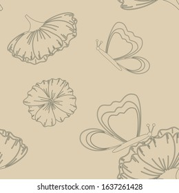 Spring Floral Butterfly Pattern Collection