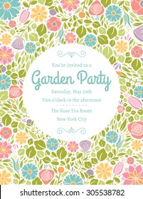 Spring Floral Invitation Five