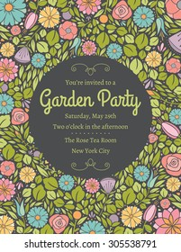 Spring Floral Invitation Four