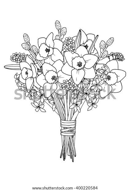 spring mason jar floral coloring page | Spring coloring pages ... | 620x424