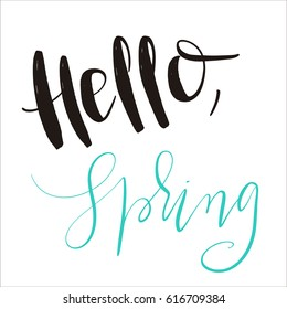 spring lettering phrases