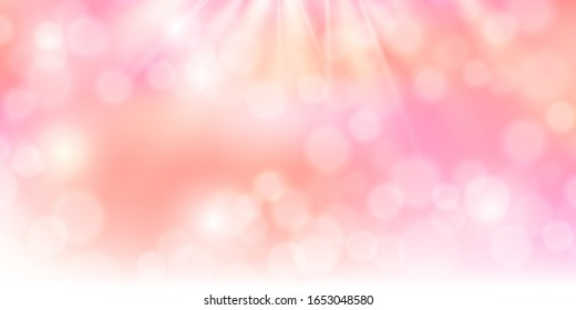Spring light pink sky background