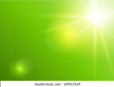 spring natural green Abstract vector background