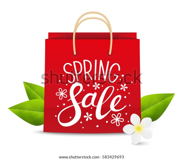 Spring sale concept for Your design