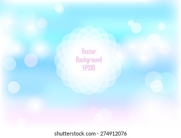 Spring sky abstract background with copyspace for your text