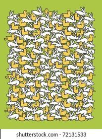 Springtime pattern