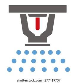 Sprinkler Vector Icon
