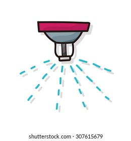 Sprinklers color doodle