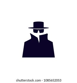Spy icon. vector spy icon. vector illustration