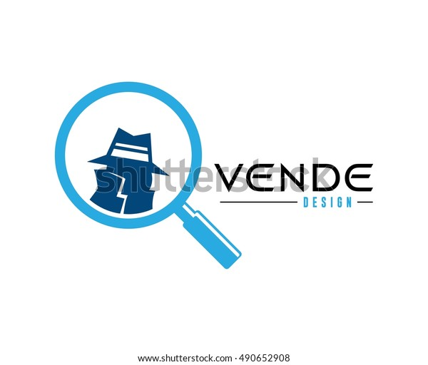 spy logo stock vector royalty free 490652908 https www shutterstock com image vector spy logo 490652908