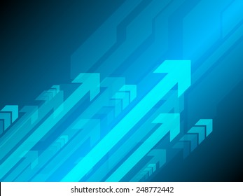 square blue abstract technology background