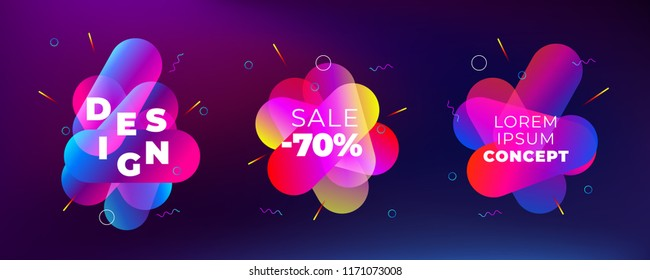 Square Brochure design. Magenta red corporate business rectangle template brochure, report, catalog, magazine. Brochure layout modern circle abstract background. Creative brochure vector concept
