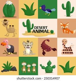 square desert animal