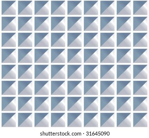 Square dimple pattern tile. Change color easily. Two colors + b/w provided.