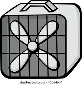 square floor fan
