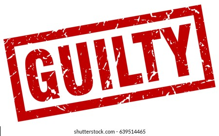 Guilty Images Stock Photos Amp Vectors Shutterstock