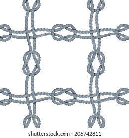 Square knot pattern