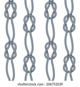 Square knot stripe pattern