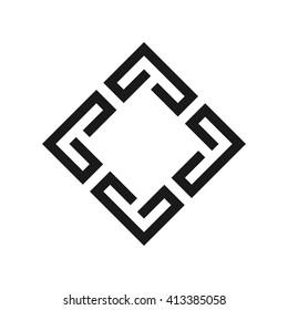 square logo vector.