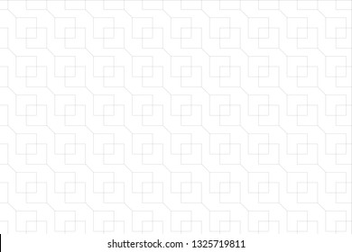 square patern abstract line background with hole