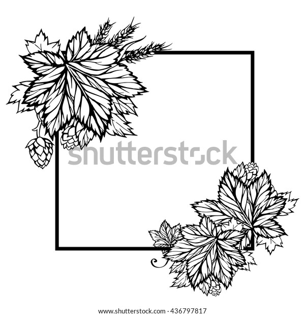 HD Wheat Clip Art Black And White Design » Free Vector Art, Images,  Graphics & Clipart
