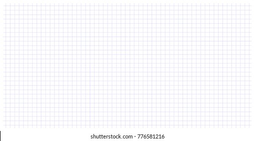 Square wide grid pattern art blue color in dotted line. Wide grid design for print. Education. School notebook paper grid art in a cage. Dotted line table.