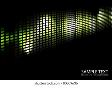 Squared modern vector techno wall template  - Modern vector  web background