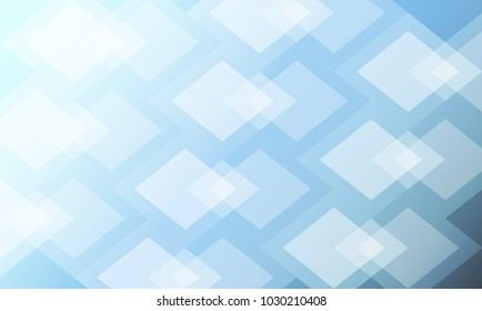 squares abstract lightcyan and skyblue background. Vector illustration
