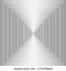 Squares that are hidden in layers White color