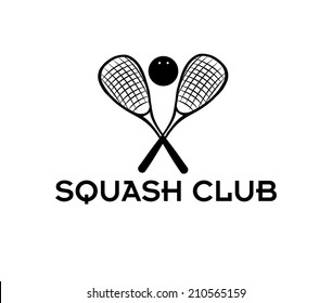 squash club illustration