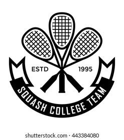 Squash Team Vector Icon