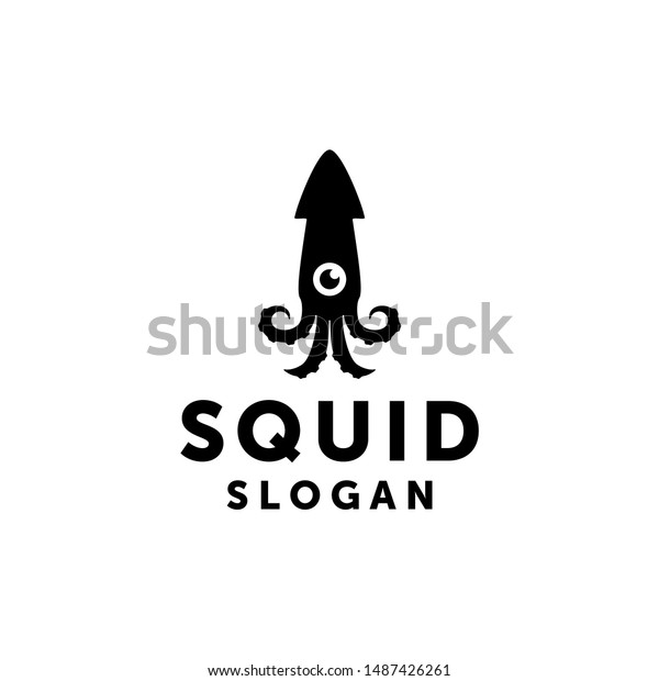 squid logo isolated squid on white stock vector royalty free 1487426261 https www shutterstock com image vector squid logo isolated on white background 1487426261