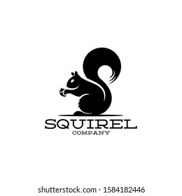 Squirel Logo Great for Any Related Logo Brand Theme Activity or Company.