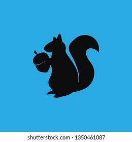 squirrel icon vector