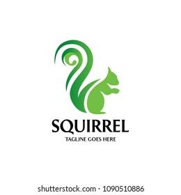 Squirrel icon - Vector illustration