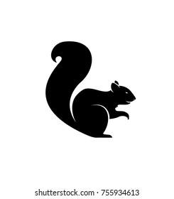 Squirrel Silhouette Vector