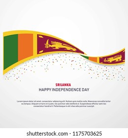 Sri Lanka Happy independence day Background