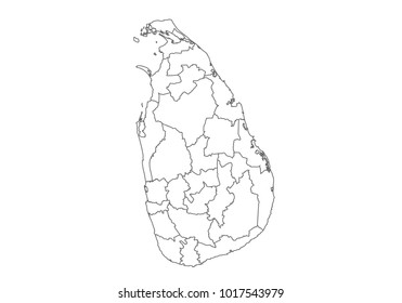 Sri Lanka Region Map Images, Stock Photos & Vectors ...