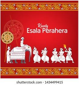 Sri Lankan Kandy Esala Perahera Festival