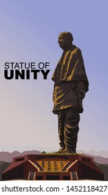 Sri Sardar Vallabhai Patel, Statue of unity - Vector