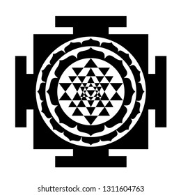 Shri Yantra Images, Stock Photos & Vectors | Shutterstock