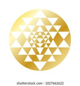 Sri Yantra Gold Edition