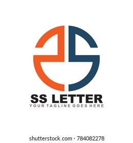 SS Letter Logo Design