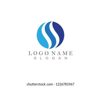 SS Logo and symbol template vector