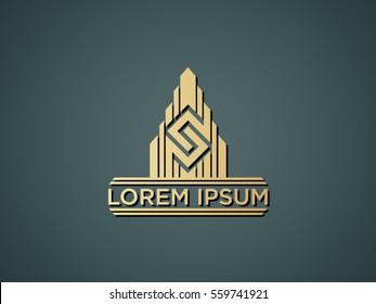 S-sign construction logos