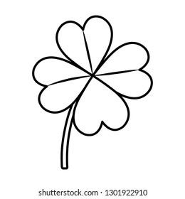 st patrick clover leaf