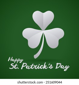 st Patrick day design, vector illustration eps10 graphic